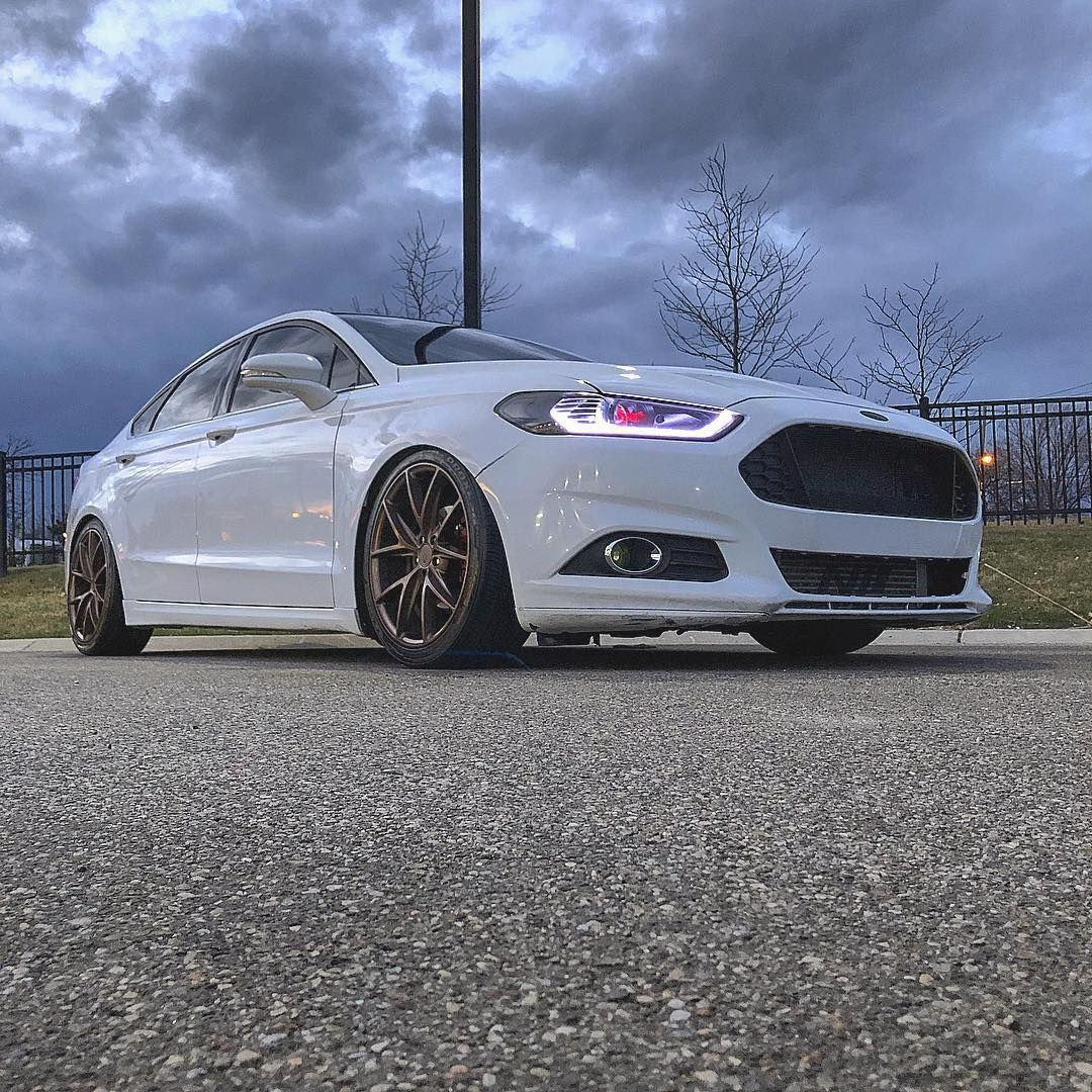 a darker background yet the fusion shines egram via franknewman ford fusion custom ford ford mondeo pinterest