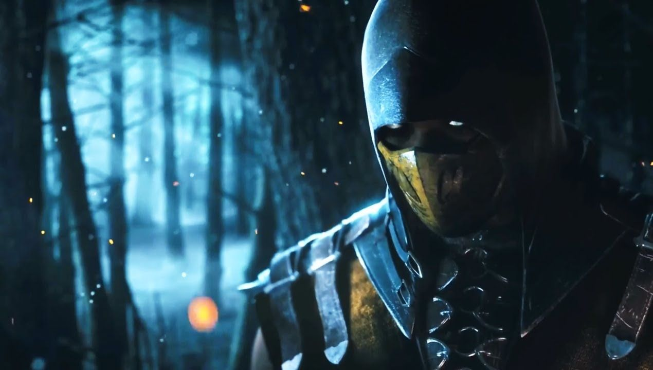Mortal Kombat X Scorpio 3d Cool Video Games Wallpapers: Mortal Kombat X Trailer Scorpion Vs Sub Zero PS4 Xbox One