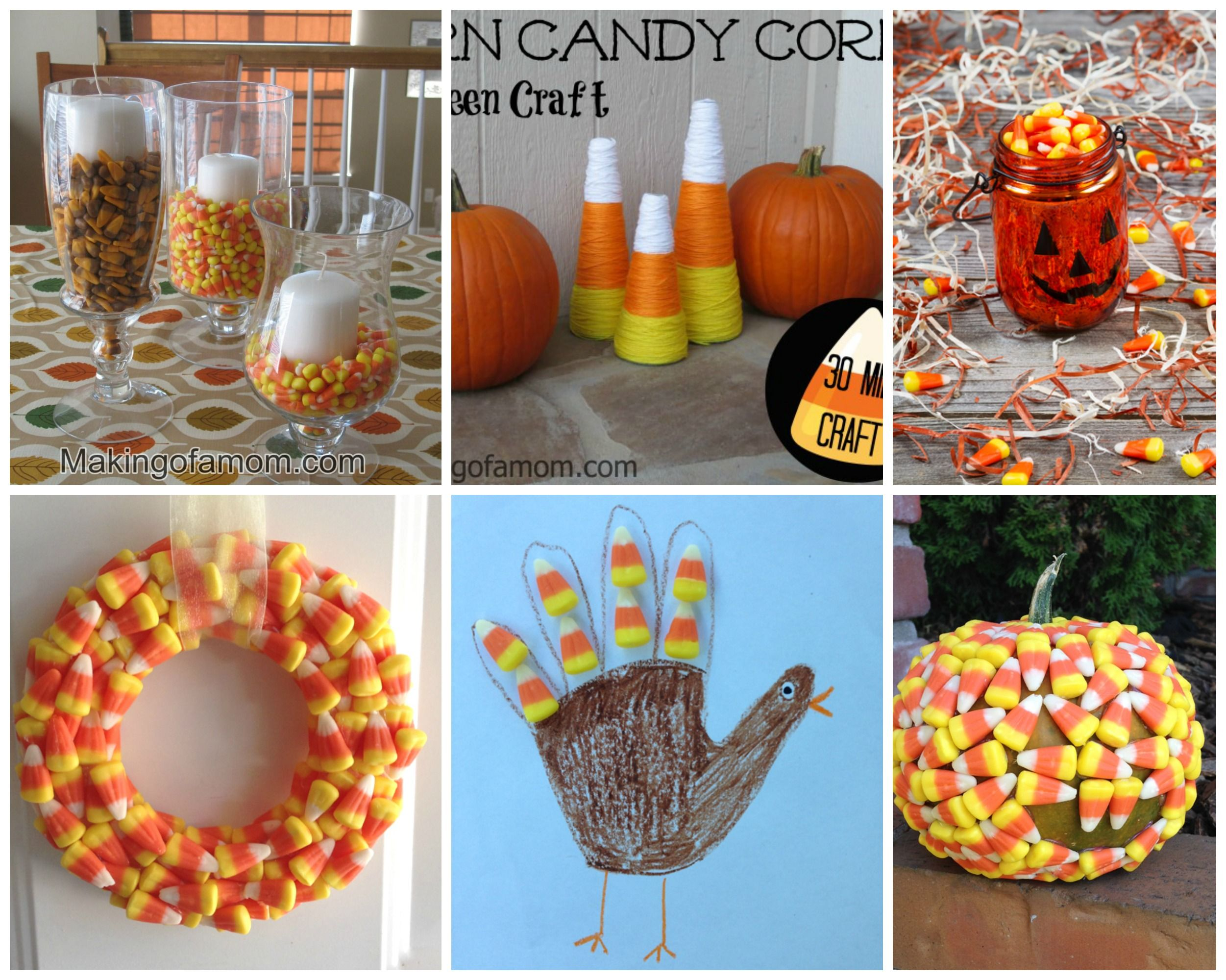 candy corn decorating ideas - Candy Corn Halloween Decorations