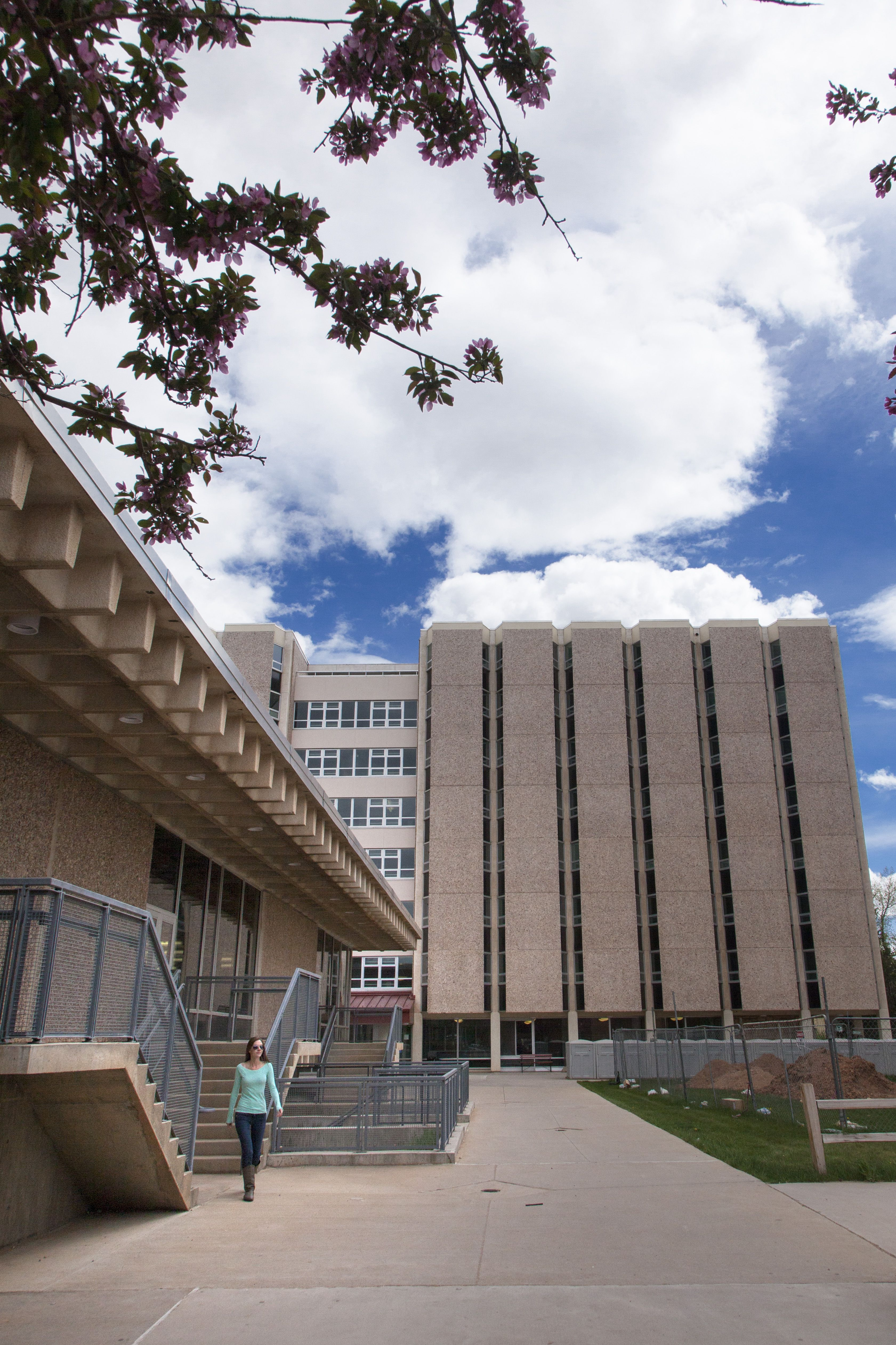 University of Wyoming residence halls.   Wyoming