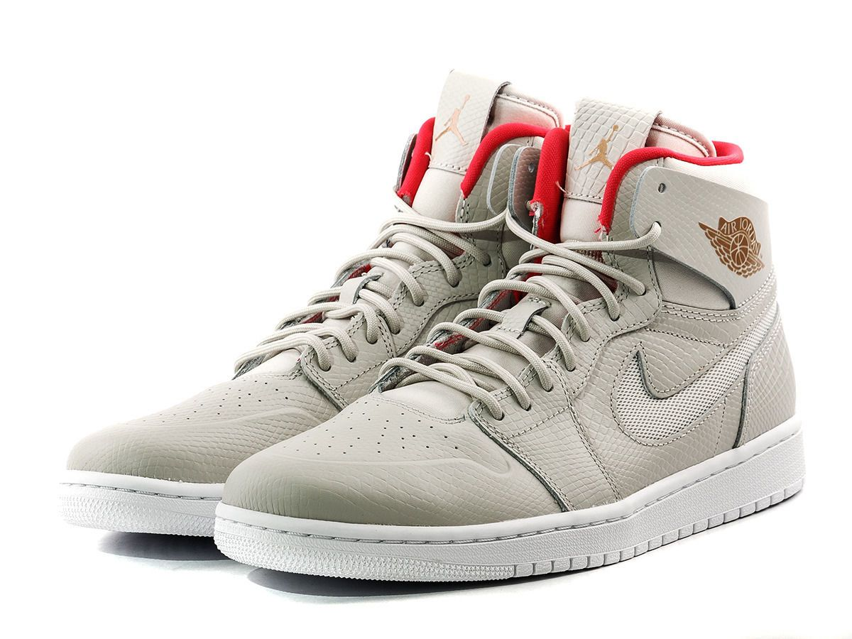 new styles 6cbfb 4016f Nike Air Jordan 1 Retro High Nouveau SZ 10.5 Light Bone Cappuccino  819176-050   eBay