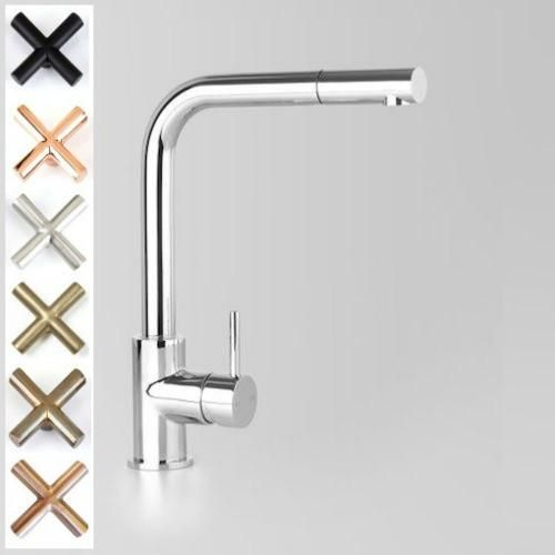 Astra Walker Icon Kitchen Mixer With Pull Out Spray Black