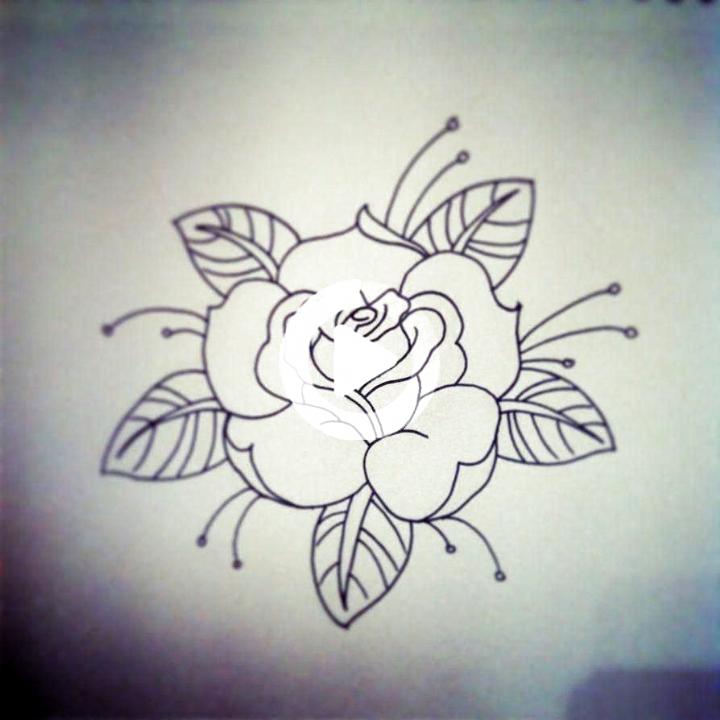 Traditional Rose Tattoo Linework By Hobojay On Deviantart Rosetattoos Tattoo Sketches Traditional Ros In 2020 Traditional Rose Tattoos Traditional Roses Rose Tattoos