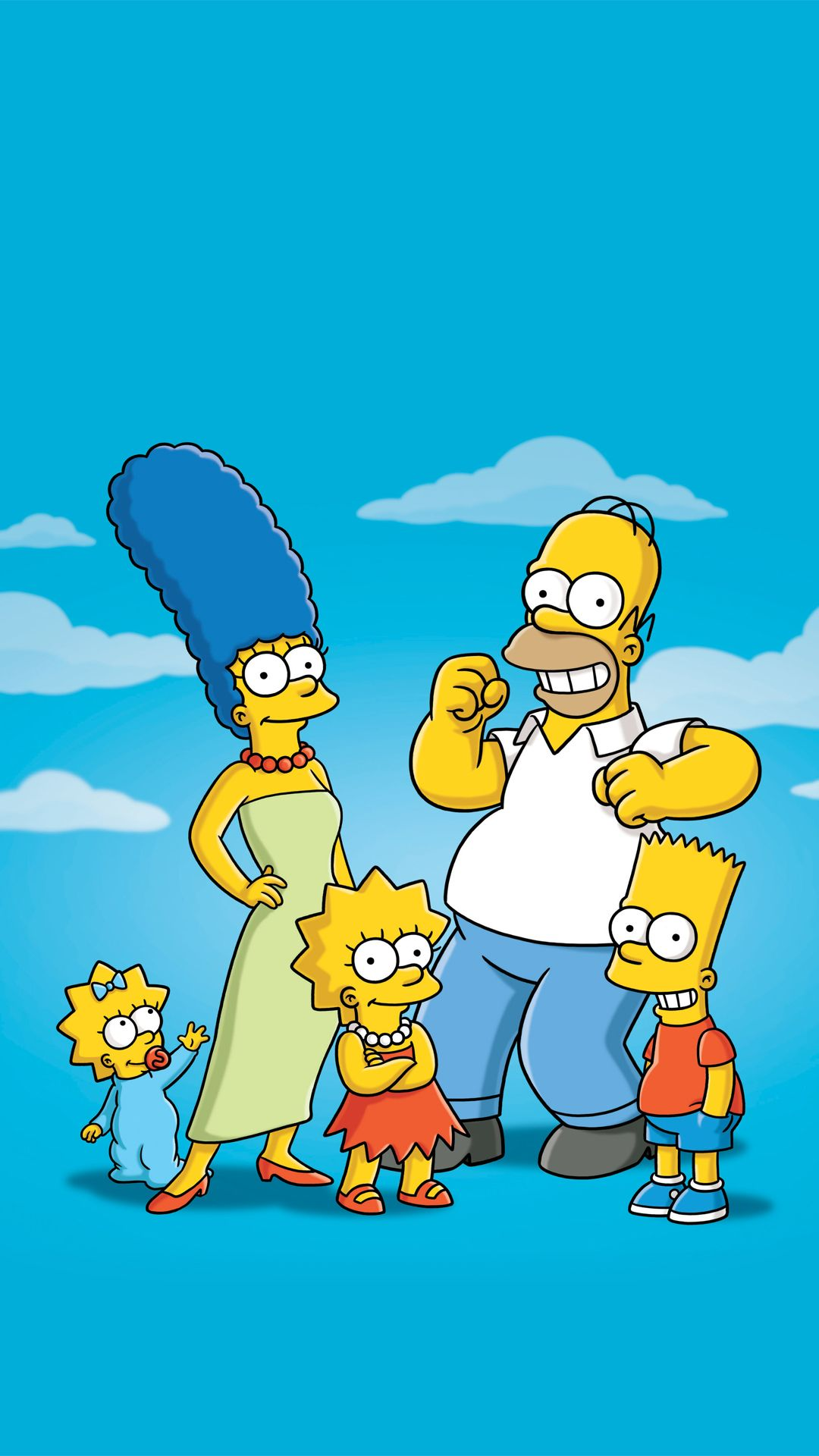 Wallpaper iphone simpsons - The Simpsons Family Funny Hd Wallpapers For Iphone 6 Is A Fantastic Hd Wallpaper For Your Pc Or Mac And Is Available In High Definition Resolution