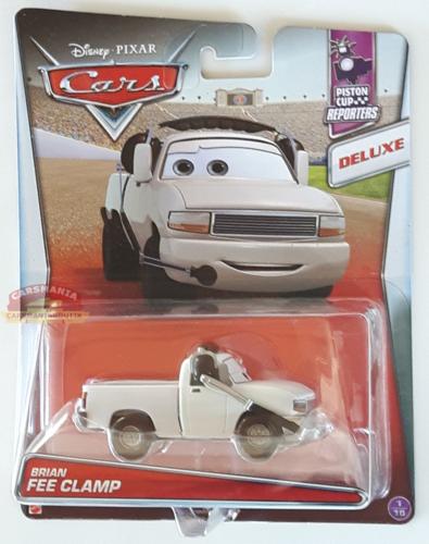 Disney Pixar Cars Piston Cup Reporters 1 10 Brian Fee Clamp