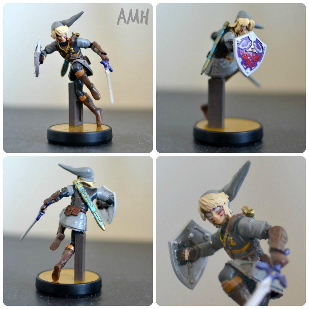 Custom Fierce Deity Link Amiibo   Custom Amiibos   Deities