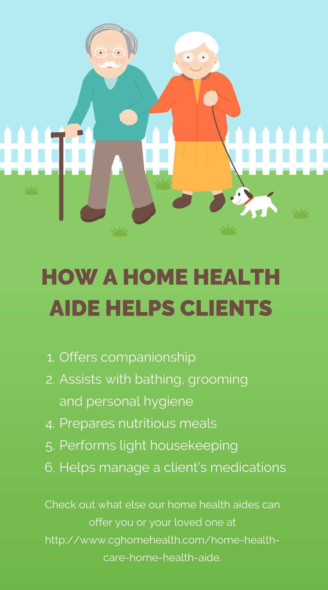 How A Home Health Aide Helps Clients Offers Companionship Assists With Bathing Grooming And Personal Hygiene Home Health Aide Home Health Care Home Health