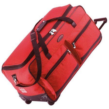 9b654768d6 Jeep Extra Large 31   Wheeled Luggage Bag (Red)The Jeep wheeled holdall