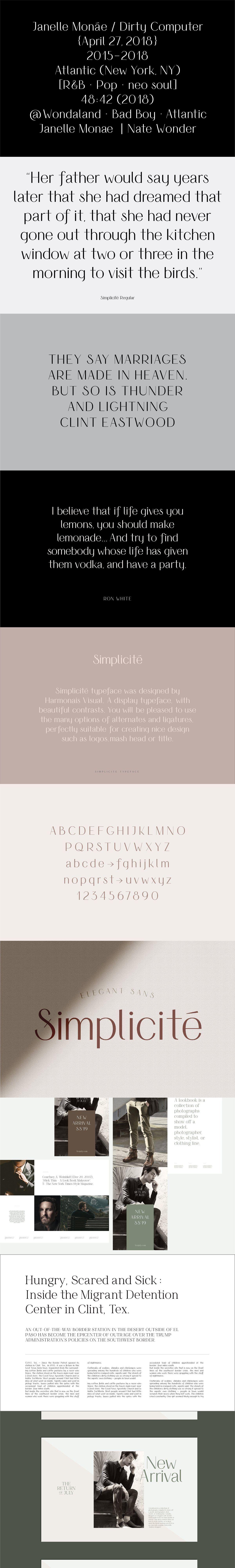 Feliz Sim Font Duo Best Serif Fonts Elegant Font Feliz
