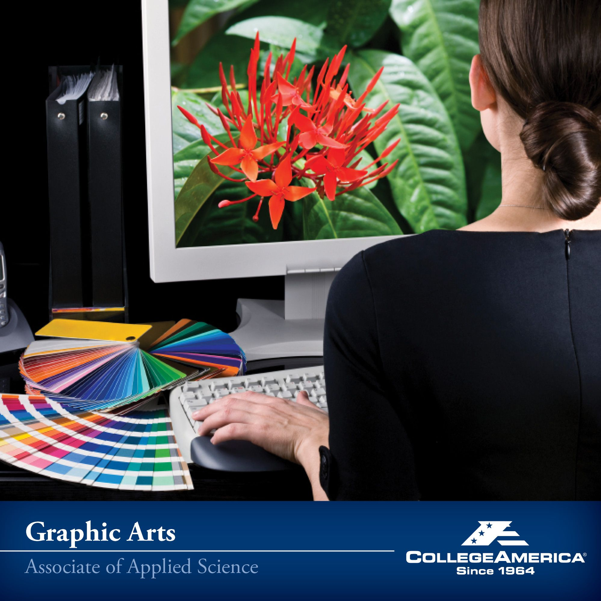 Interested In An Associates Or Bachelor S Degree In Graphic Arts Click For More Information Graphic Design School Graphic Design Services Custom Web Design