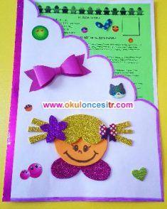 gelişim raporu dosya Örnekleri ve süslemeleri preschool kindergarten