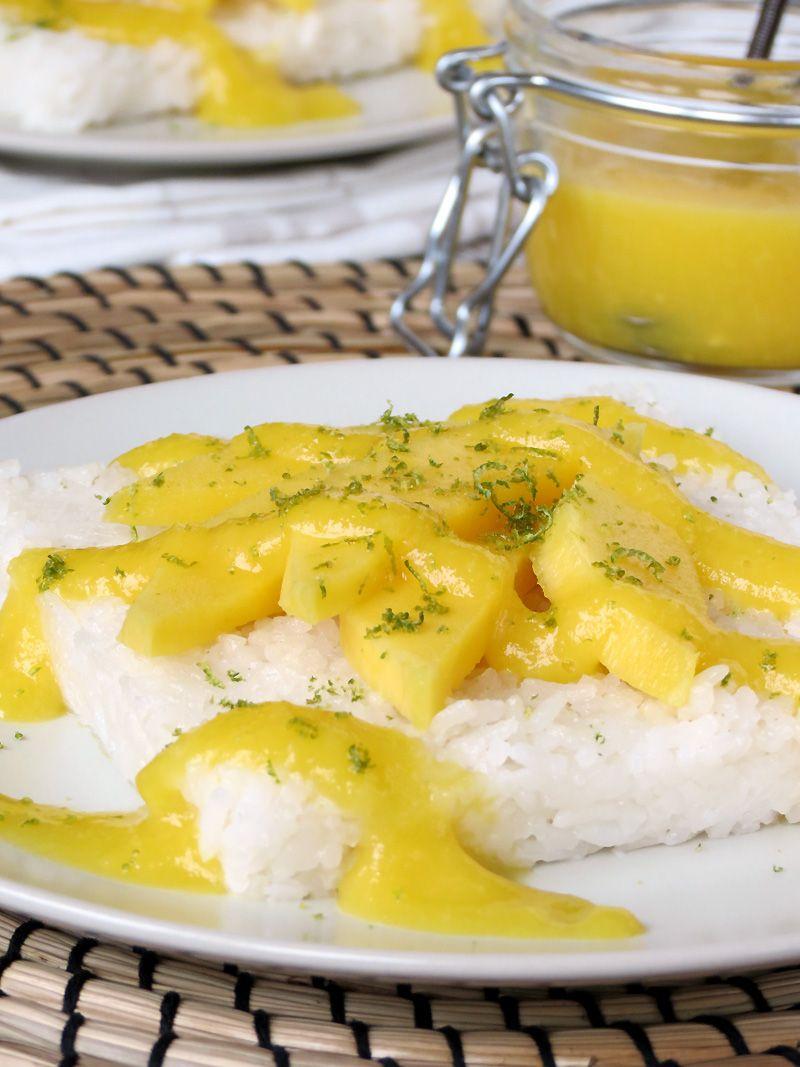 Mango Sticky Rice | Recipe | Mango sticky rice, Food ...