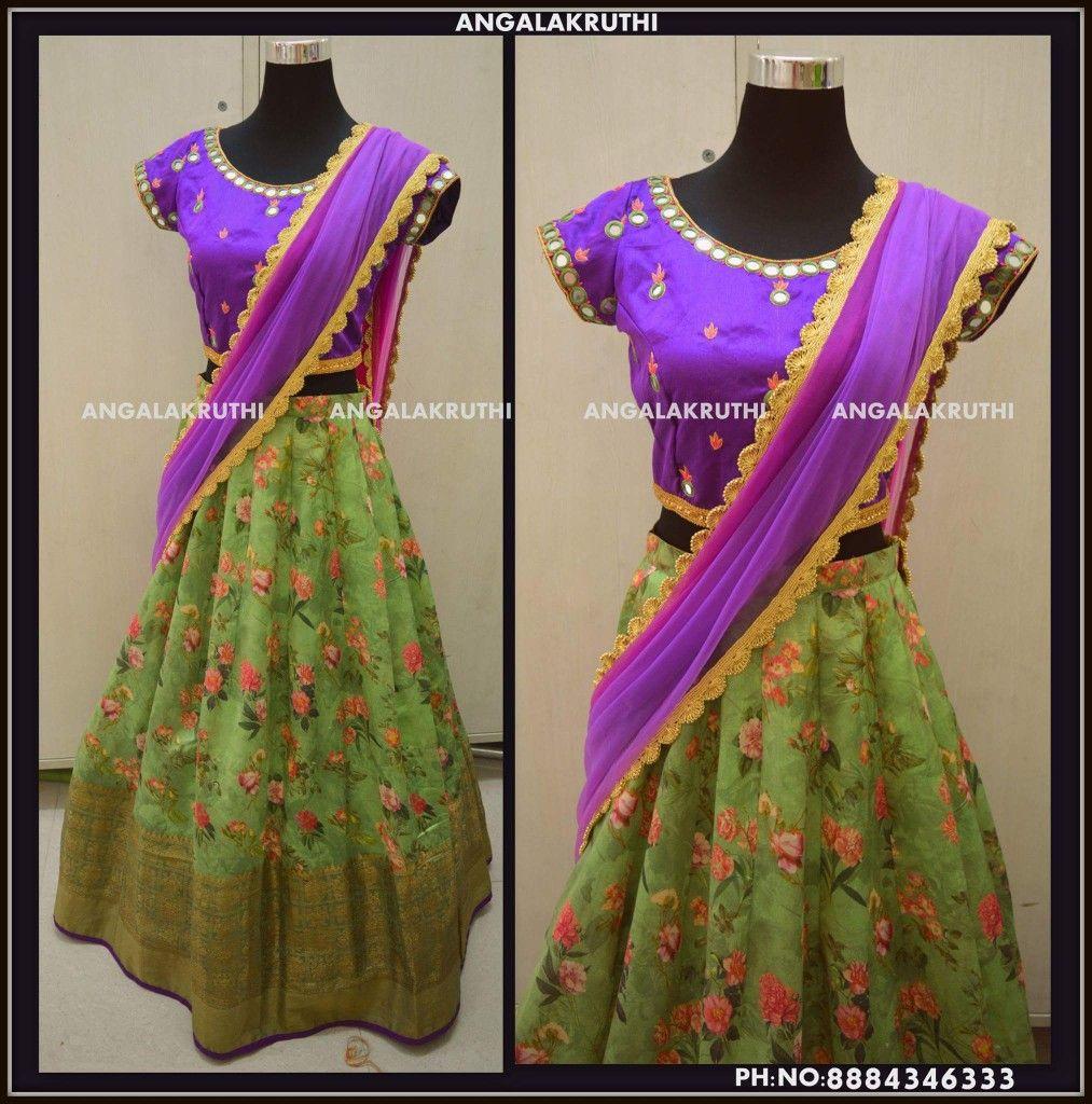 9fb16b84e116a Designer Lehenga by Angalakruthi boutique Bangalore Watsapp 8884347333   bestskirtsinbangalore