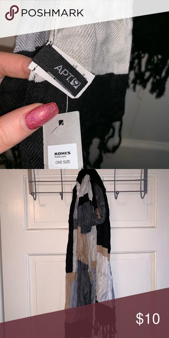 da447692a3d Kohl s scarf Kohl s scarf Kohls Accessories Scarves   Wraps
