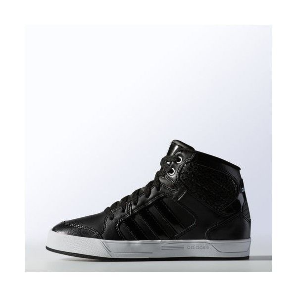 adidas BBNEO Raleigh Mid Shoes ($65) ❤ liked on Polyvore featuring shoes,  high