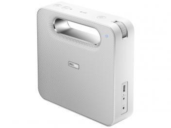 Caixa De Som Philips Bt5580w 10w Rms Bluetooth Com Imagens
