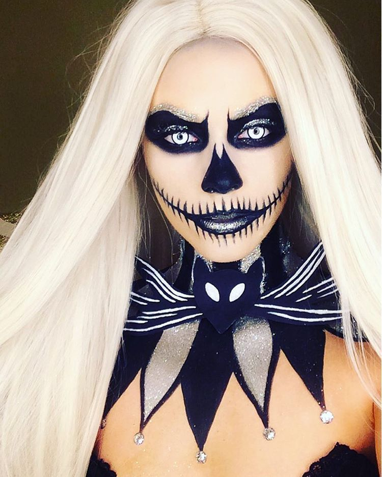 Pin by Juantelle on Fantasy makeup Nightmare before