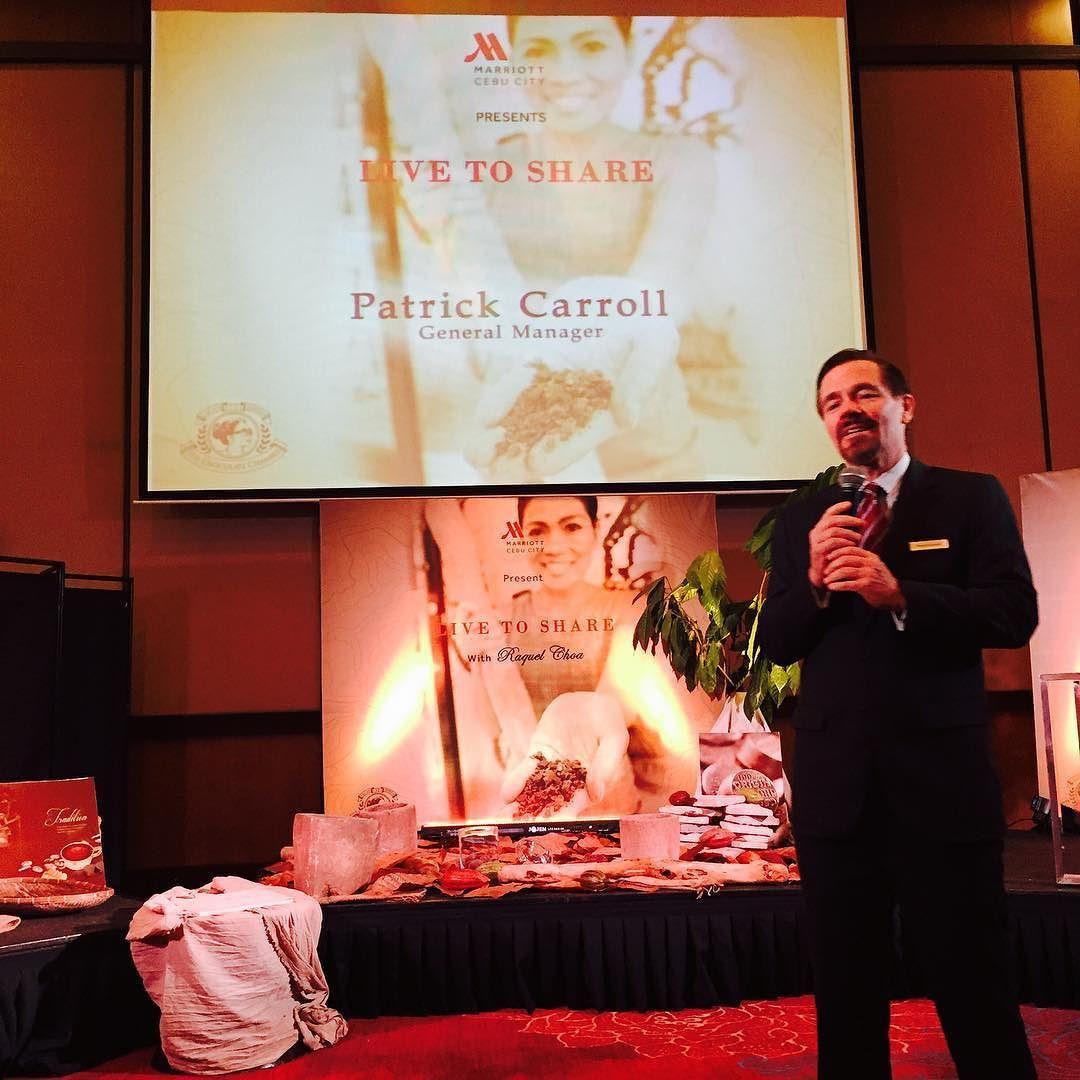 Cebu City Marriott Hotel's General Manager Patrick Carroll