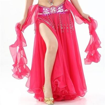 e0f2b13a8f 2019 New Belly Dancing Clothing Long Maxi Skirts lady belly dance skirts  Women Sexy Oriental Belly Dance Skirt Professiona