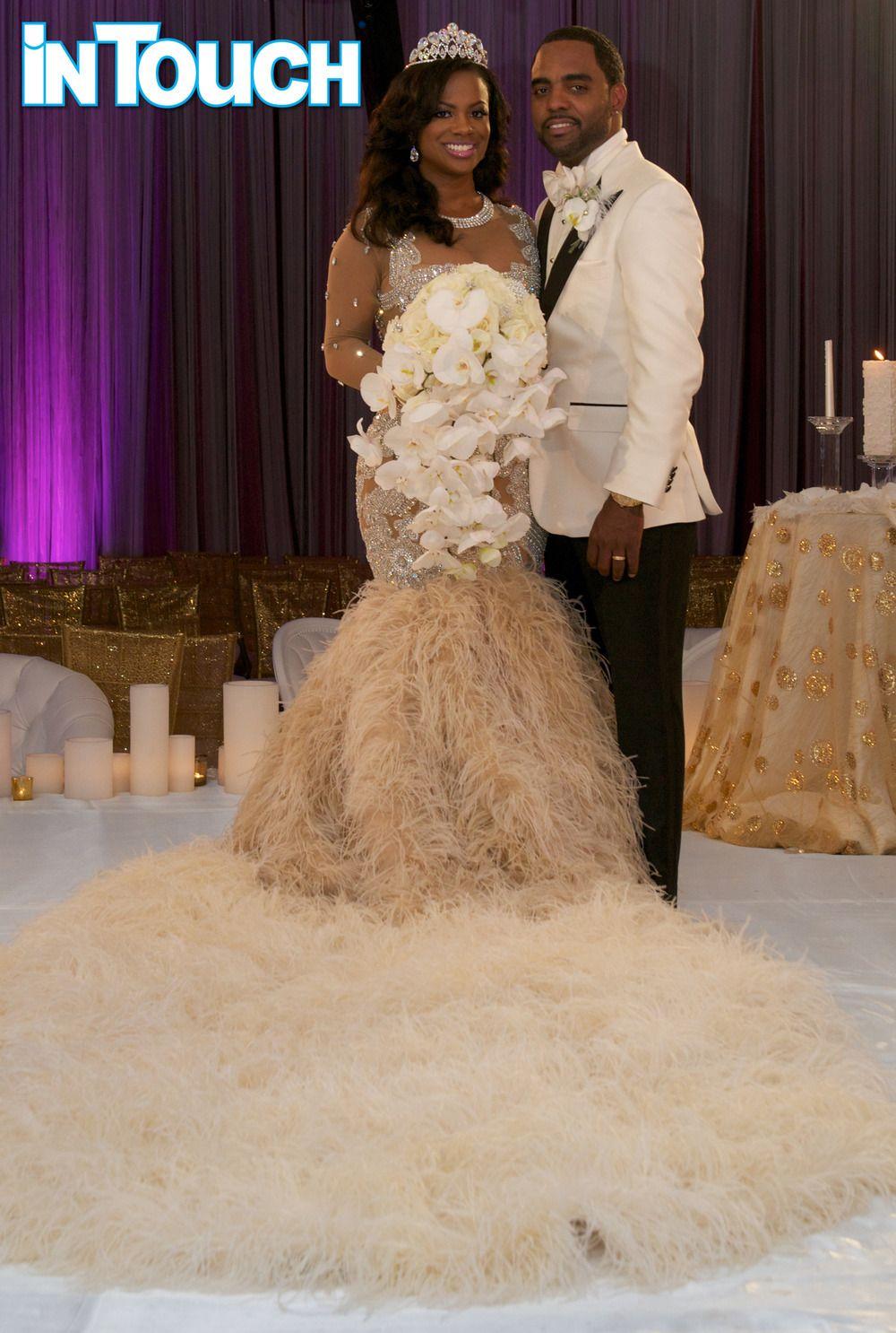 How Much Did Kandi Burruss And Todd Tucker S Wedding Cost Wedding Dress Reveal Wedding Dresses Extravagant Wedding