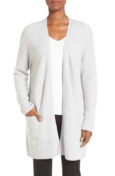 Nordstrom Collection Cashmere Open Front Cardigan | Casual outfits ...
