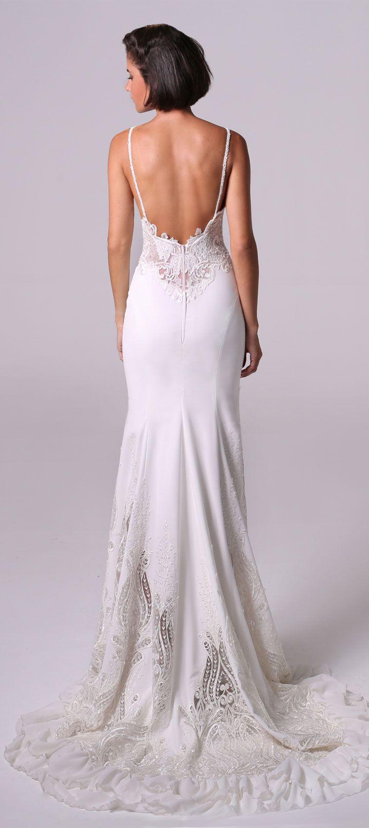Michal medina wedding dresses wedding dress mermaid gown and