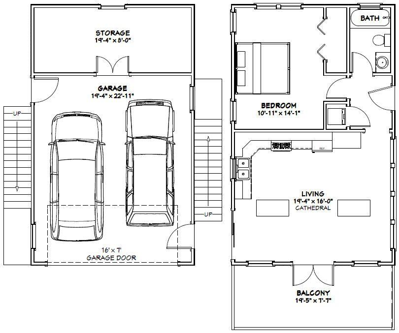 PDF house plans garage plans shed plans floor plan