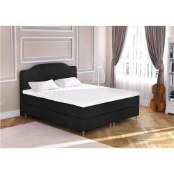 Photo of Eless Mozart somier cama negro 140×210 cm H3-H3