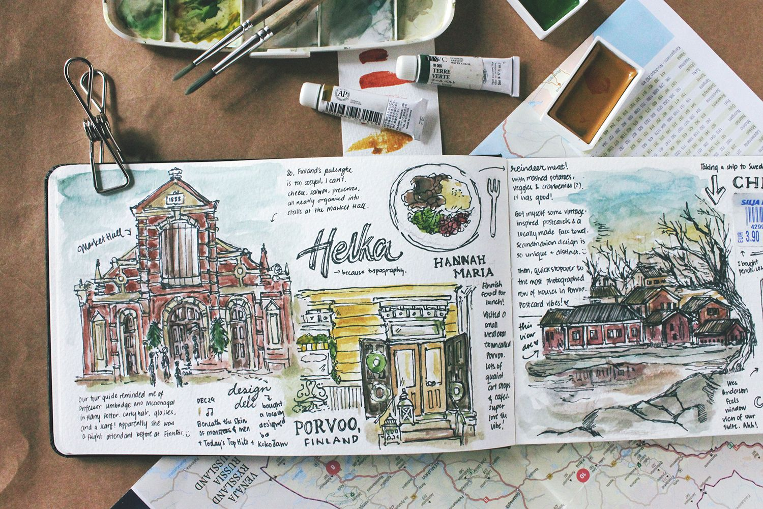 Check Out This Behance Project Travel Diaries Scandinavia