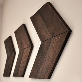 DIY Wooden arrows to compliment any style! Click for tutorial.