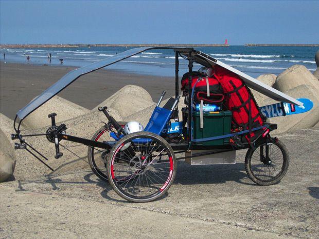 Car Bike The Hauler Bike Car At Awsm Com Bicycles Cargo