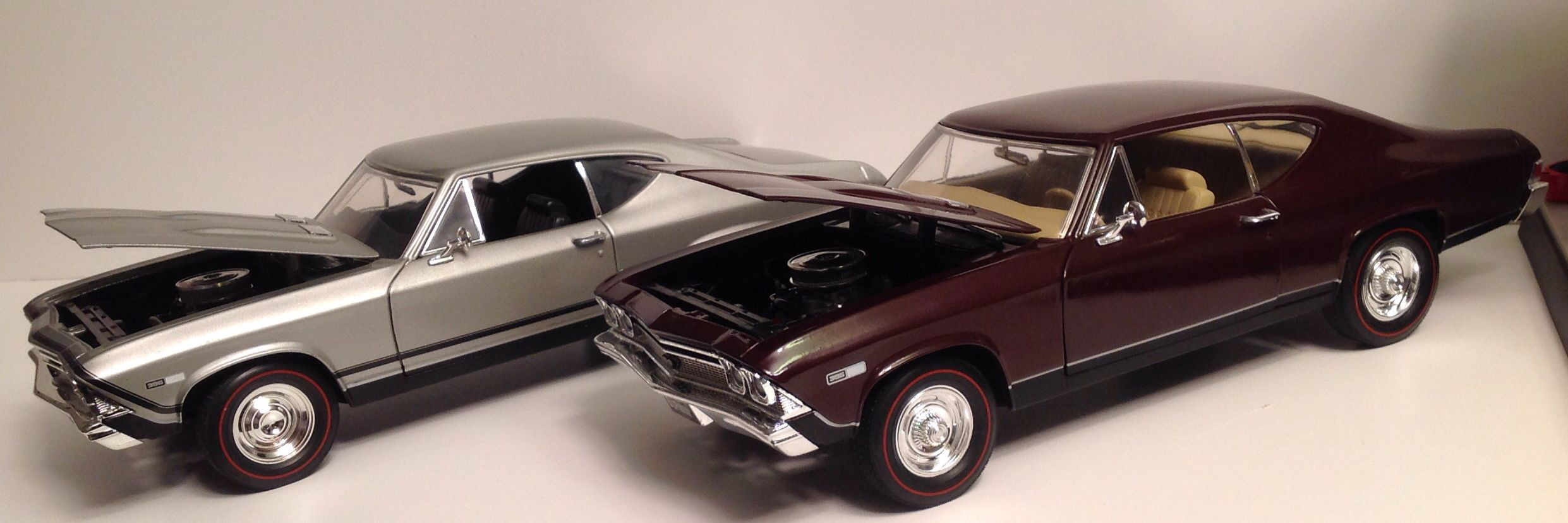ERTL American Muscle, 1968 Chevelle SS396, 1/18 diecast