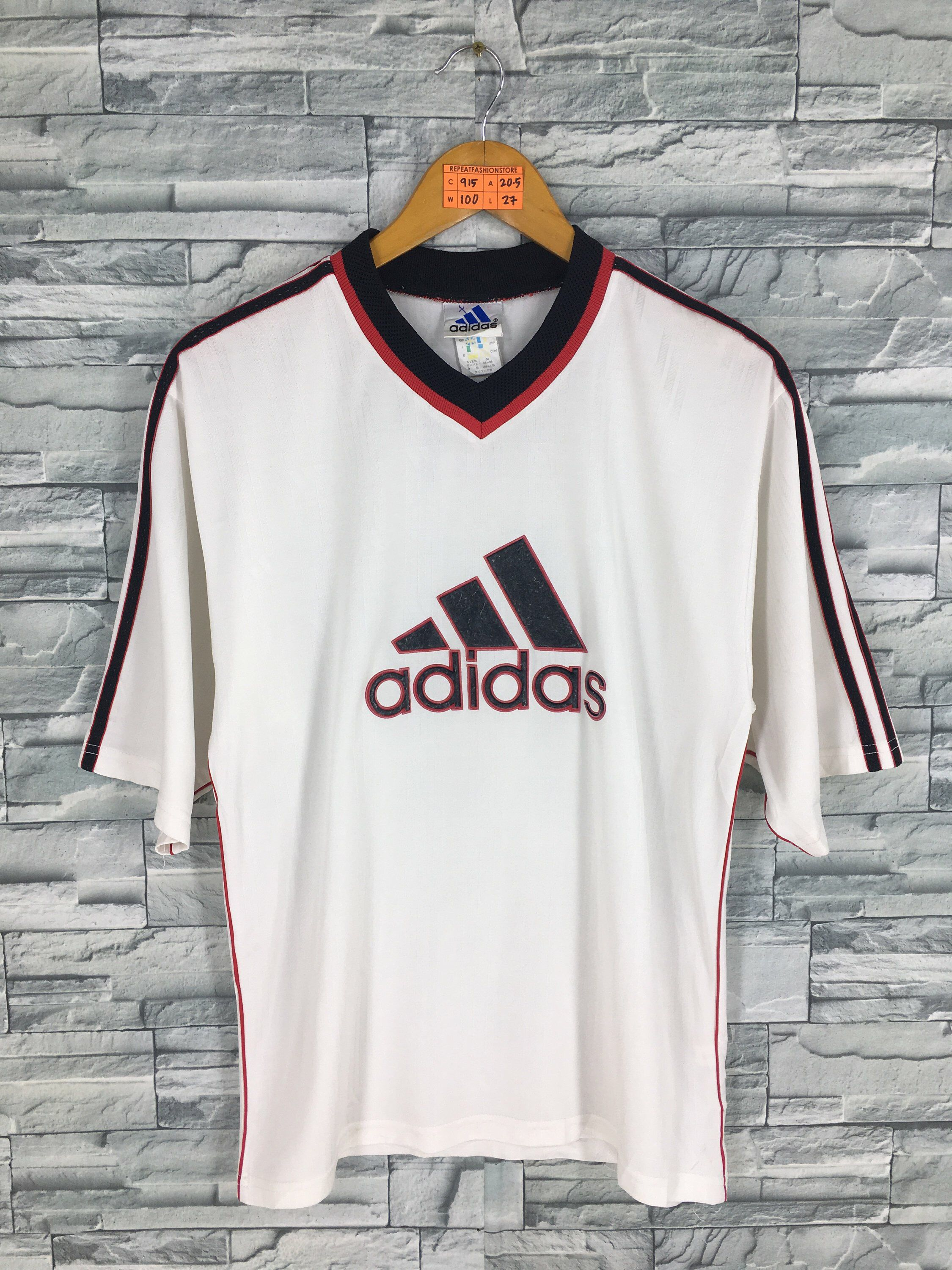 80817f549 Excited to share this item from my  etsy shop  Vintage ADIDAS SPORT Jersey  Medium