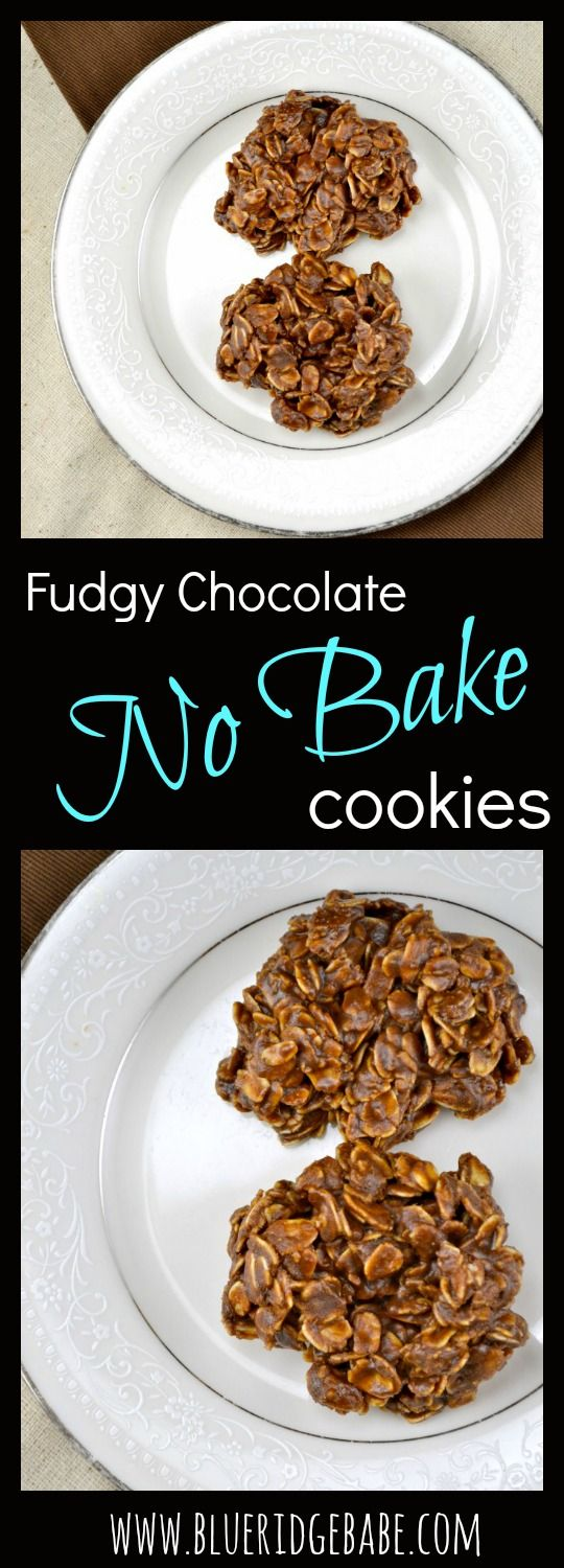 Healthy and highly addictive - these fudgy chocolate no bake cookies will be your new favorite dessert!