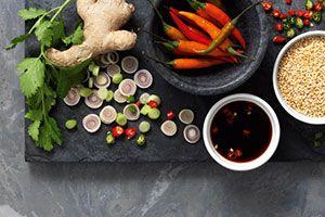 Couscous-Rezept für den Dampfgarer: Lammschulter mit Couscous