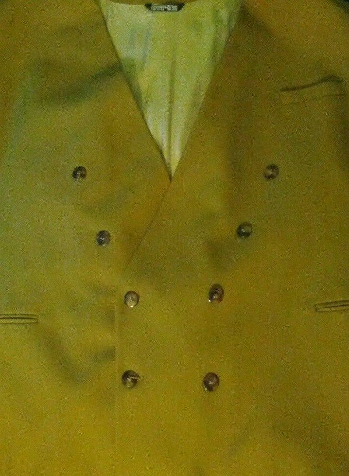 Men's Falcone Olive Green Suit Jacket 56R Big And Tall  #Falcone #TwoButton