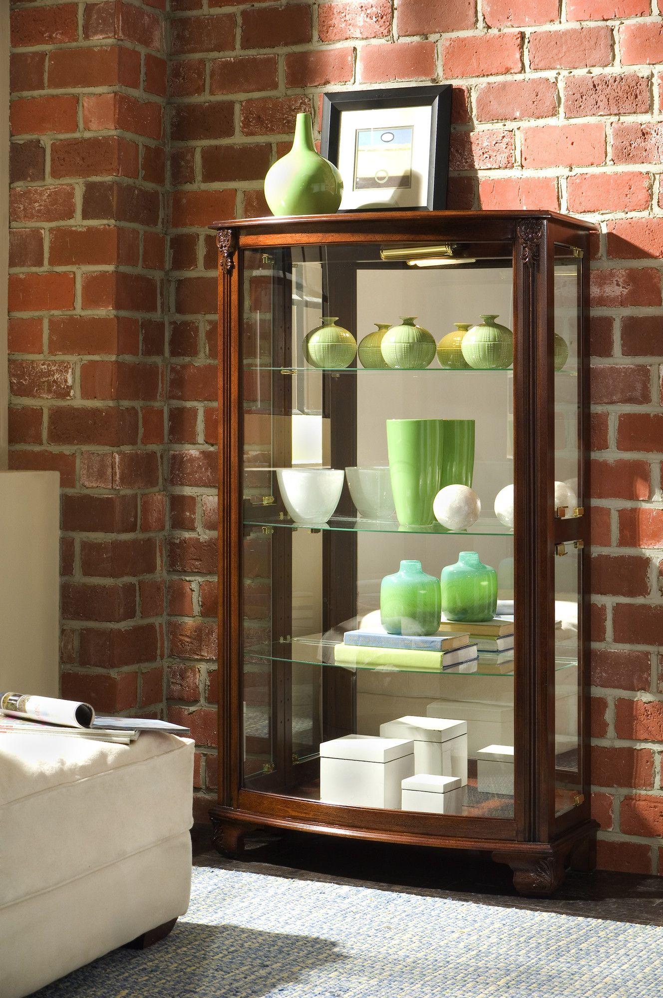 Pulaski Keepsakes Curio Cabinet & Reviews | Wayfair (With ...