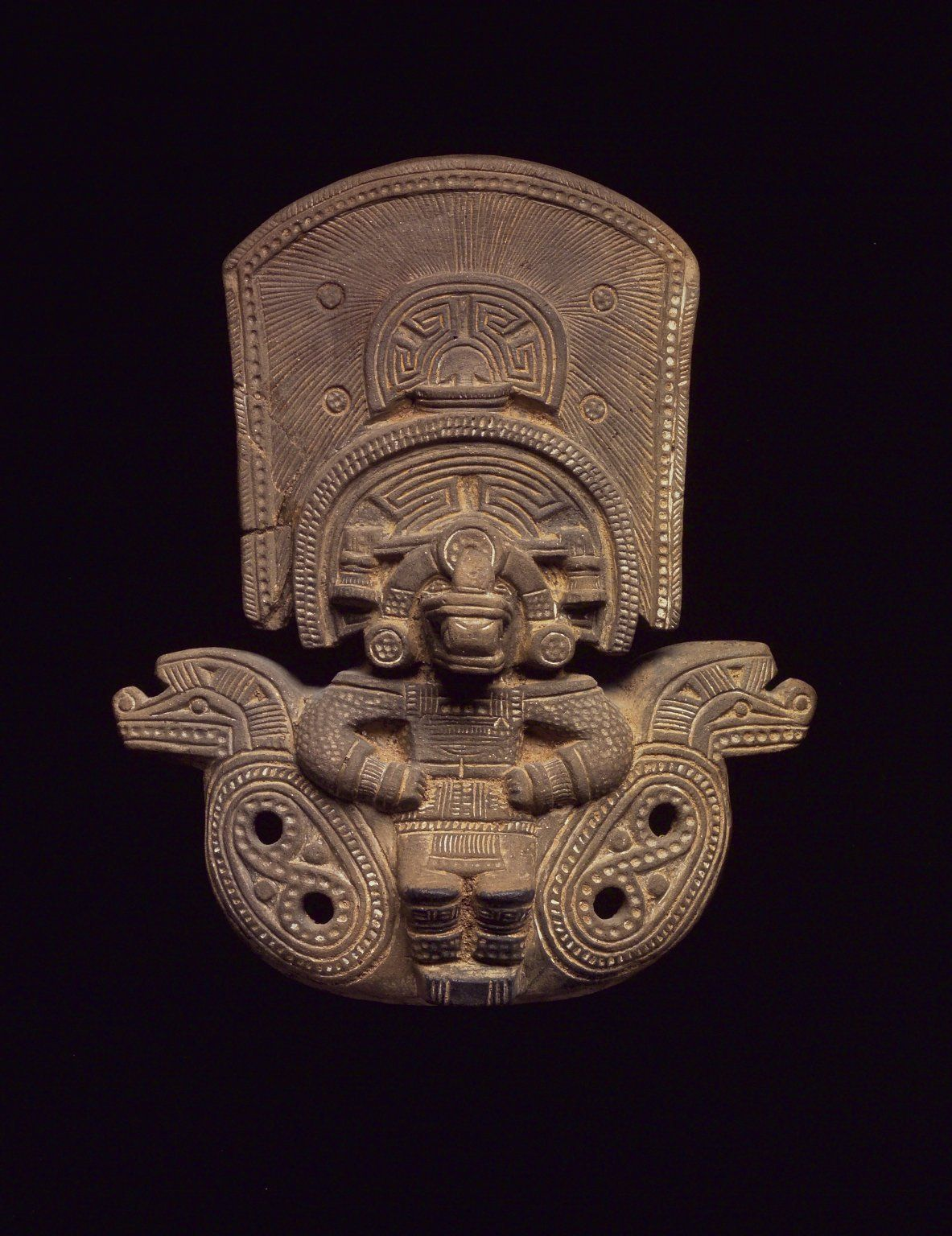 Theancientwayoflife Ocarina In The Form Of A Seated Figure Culture Tairona Medium Ceramic Place Of Origin Colombia Date Mayan Art Hispanic Art Ancient