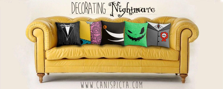 Nightmare Before Christmas Jack Skellington Pillow Cover Etsy Nightmare Before Christmas Decorations Nightmare Before Christmas Nightmare Before