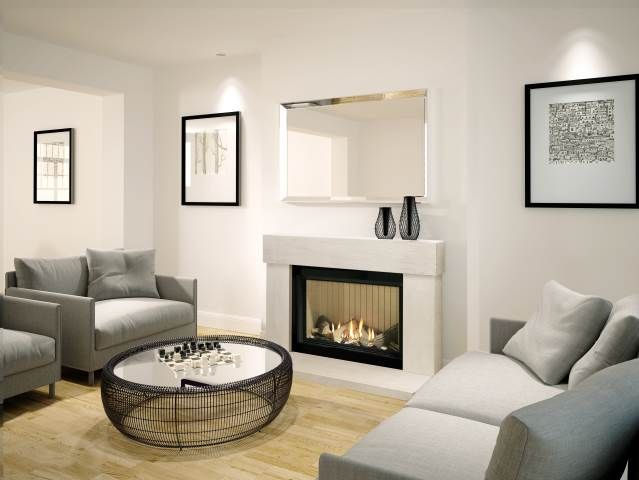 gas fire with limestone frame - Google Search mums recipes Pinterest