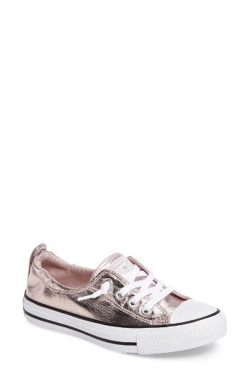 Free shipping and returns on Converse Chuck Taylor® All Star® Shoreline Low  Top Sneaker (Women) at Nordstrom.com. A metallic finish adds a bit of  glamour to ... 5f5700842