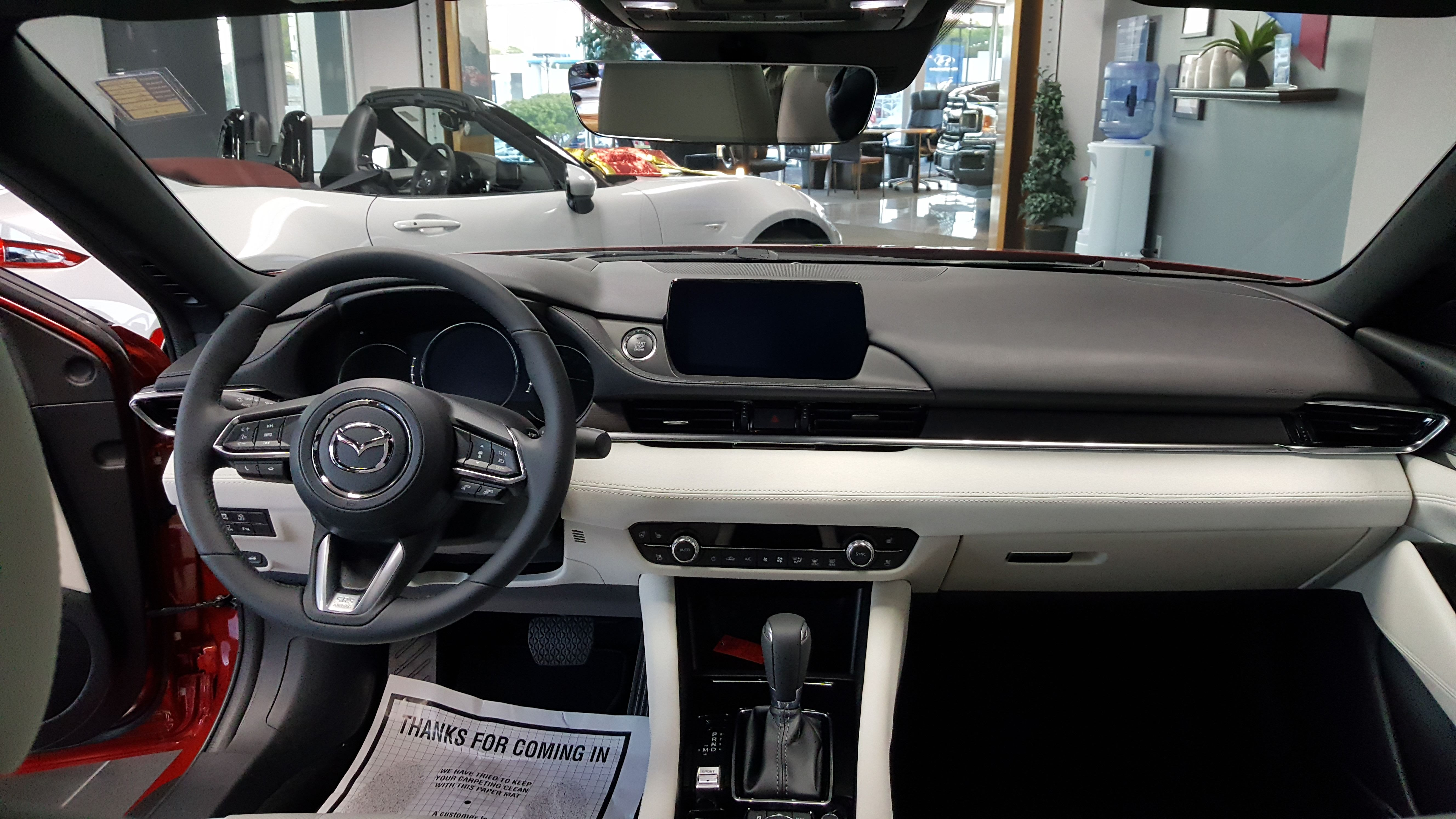 Whaling City Ford >> 2018 Mazda Mazda6 Signature interior | Shutters for sale, Best interior design, Mazda
