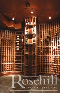 Modular Racking With Display Shelves Wine Cellar Construction