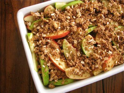 Maple Apple Crisp by Healthy Food For Living