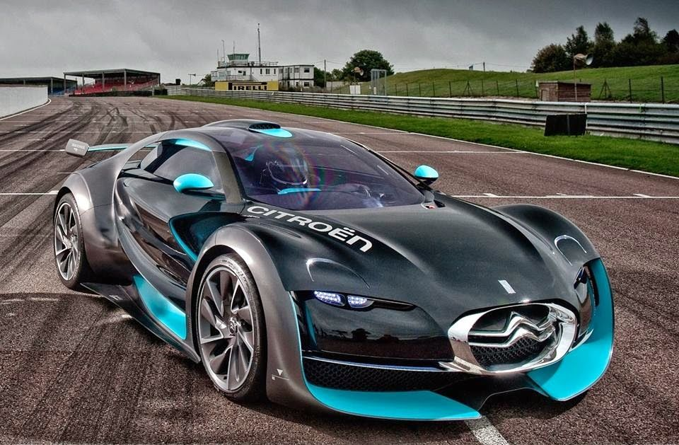 citroen survolt  this is an all electric sports car
