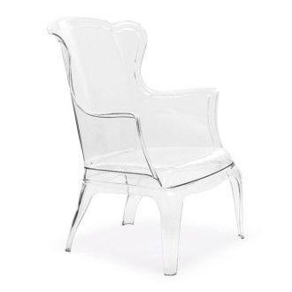Visiona Chair Chaise Transparente En Polycarbonate Transparent Polycarbonate Chair Transparent Chair Zuo Modern Modern Dining Chairs
