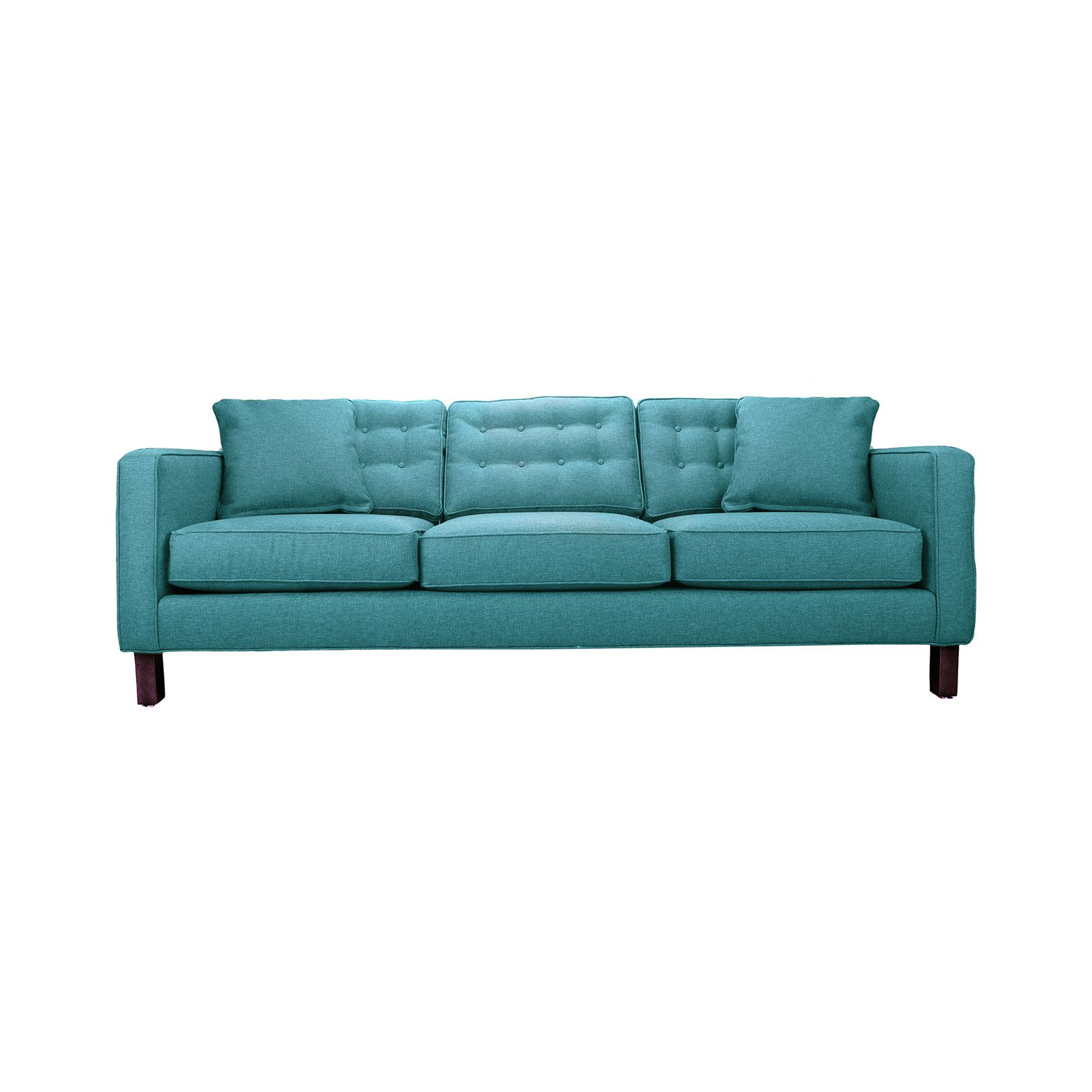 tufted turquoise sofa corner sofas beds uk pin by james hummel on living room furniture