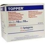 #TOPPER Schlitzkompr.10x10 cm steril rezeptfrei im Shop der pharma24 Apotheken