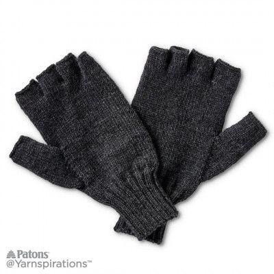 Free Intermediate Knit Gloves Pattern Knitting Pinterest
