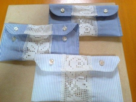 Idee Creative Cucito : Come riciclare una vecchia camicia ecco idee creative
